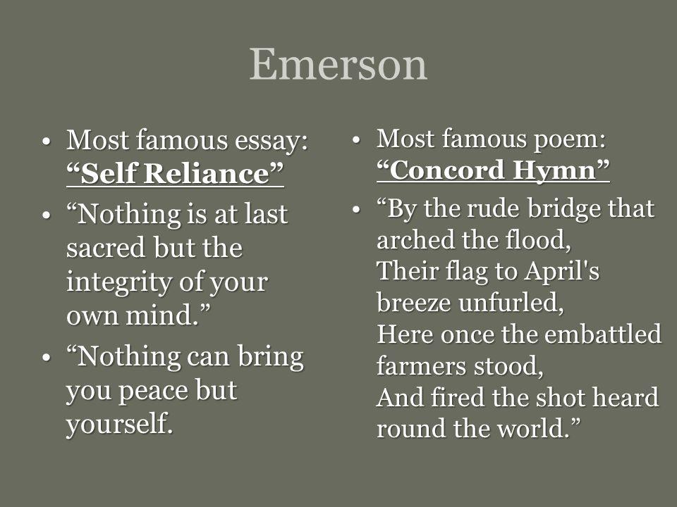 Famous Argumentative Essays