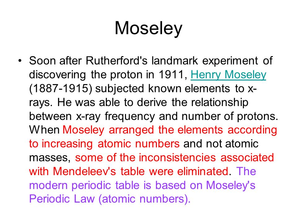 Ch 6 the periodic table mendeleevs periodic table elements in mendeleevs periodic table 5 however mendeleev ordered his elements in order of their relative atomic mass urtaz