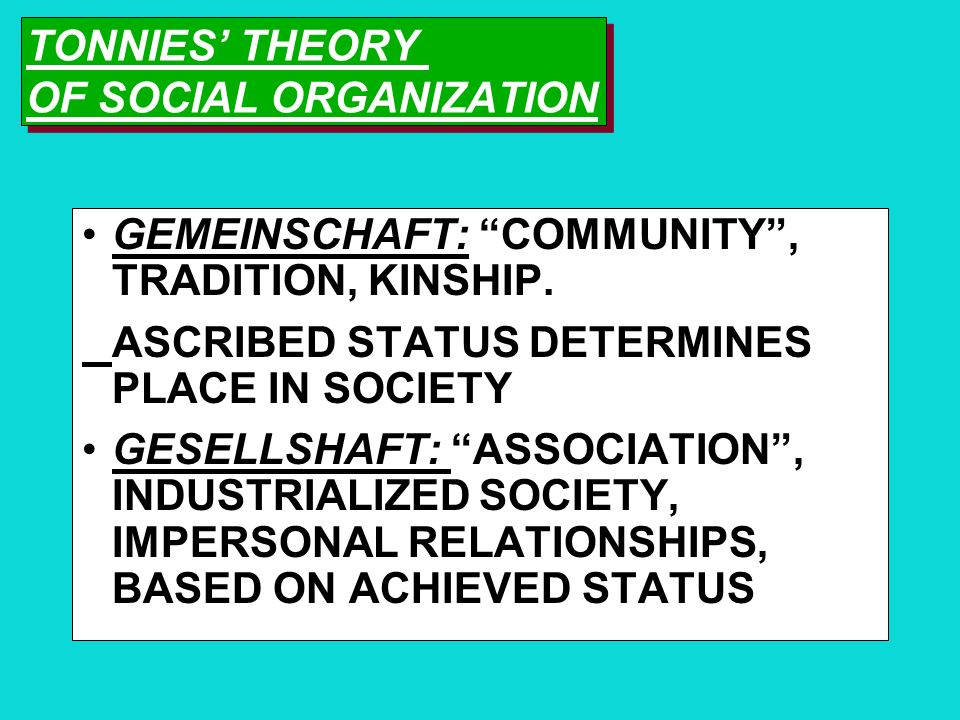"""CHANGES IN SOCIAL STRUCTURES DURKHEIM: """"WHAT HOLDS SOCIETY TOGETHER?"""" MECHANICAL SOLIDARITY: BASED ON SIMILARITIES AS TRADITIONS, COMMUNITY RULES, SAM"""