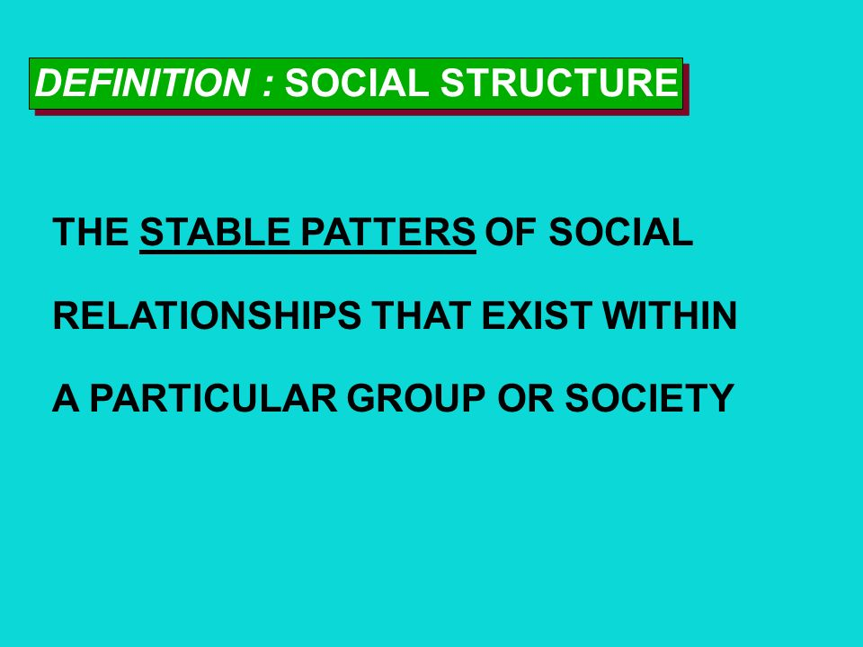Chapter 5: Social Structure and Interaction in Everyday Life Chapter 5: Social Structure and Interaction in Everyday Life Slides Created and Designed