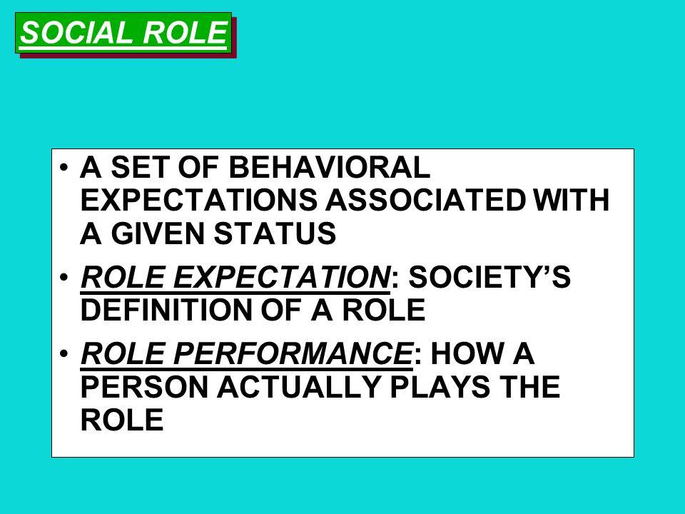 Roles Role Expectation Role Ambiguity Role Conflict Role Strain Role Distancing Role Exit Key Concepts for Understanding Roles Key Concepts for Unders