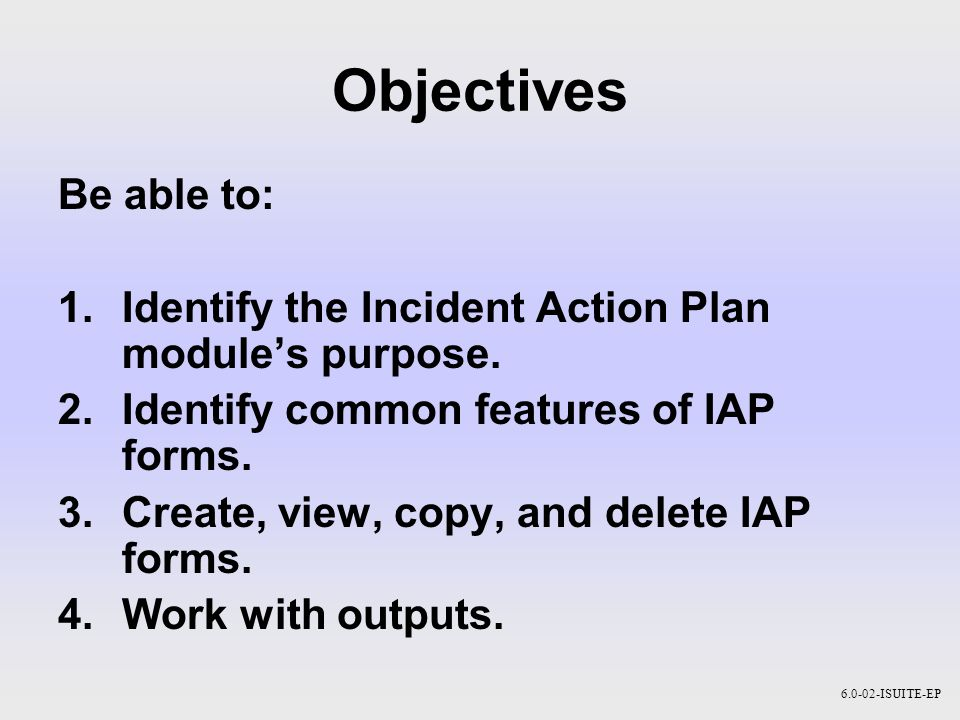 incident action plan 2 There are number of various types of action plans used for various incidents and situations in professional organizations this incident action plan template can be used to report everything needed in time.