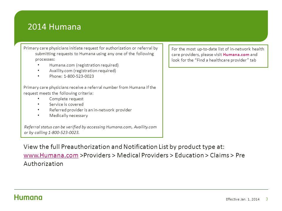 2014 Humana Maranda Merjudio Consultant, Network Relations ...