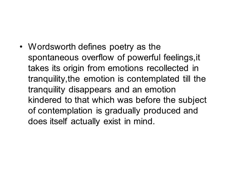 wordsworth a romantic hypocrite
