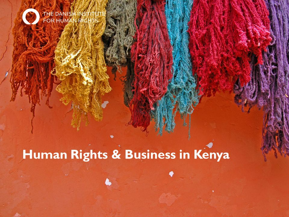Human Rights & Business in Kenya