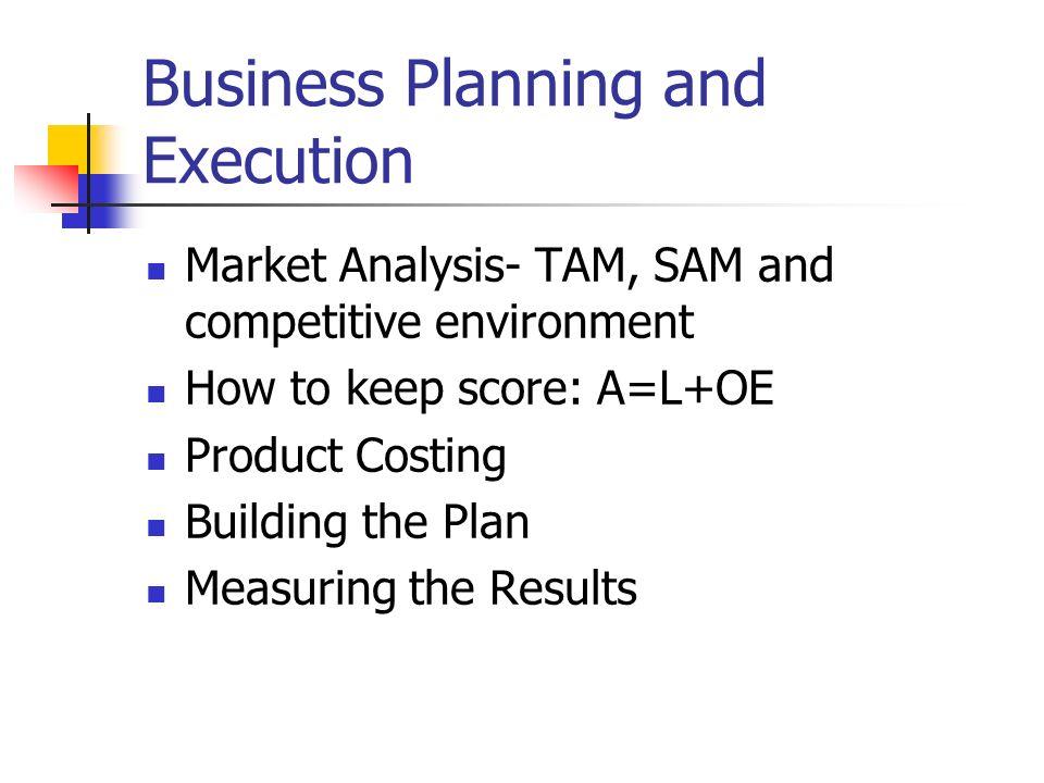 Business plan environmental analysis
