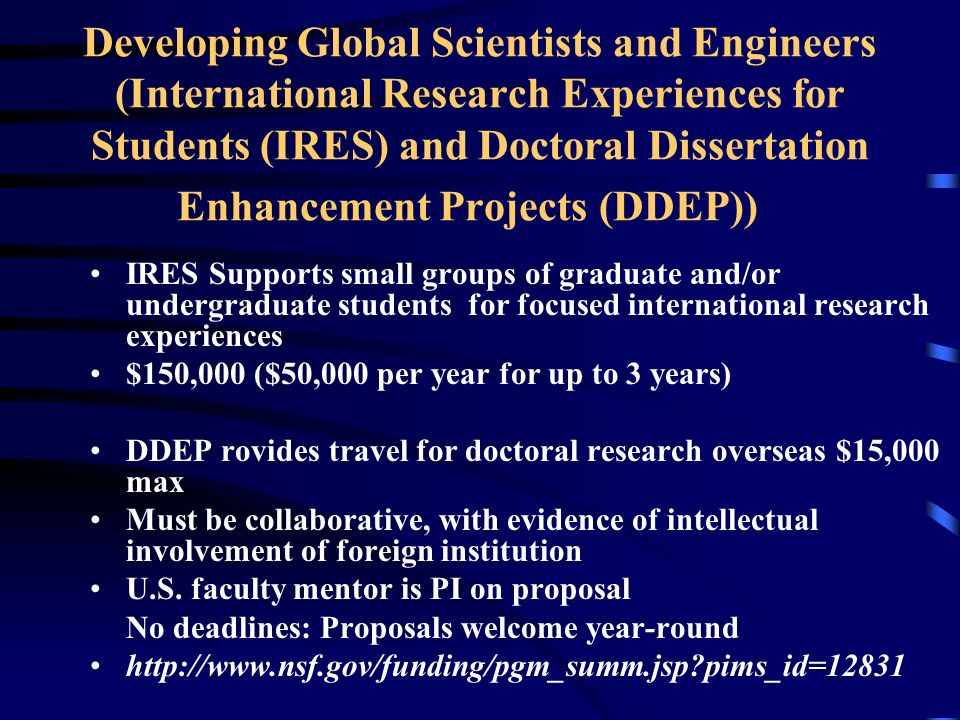 Doctoral dissertation enhancement projects ddep thesis statements helper