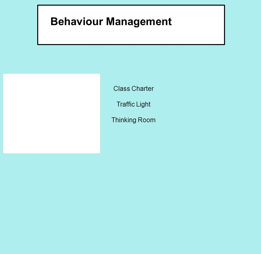 Class Charter Traffic Light Thinking Room Behaviour Management