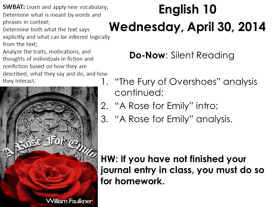 critical analysis a rose for emily
