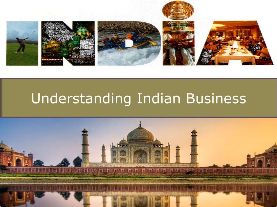 Understanding Indian Business