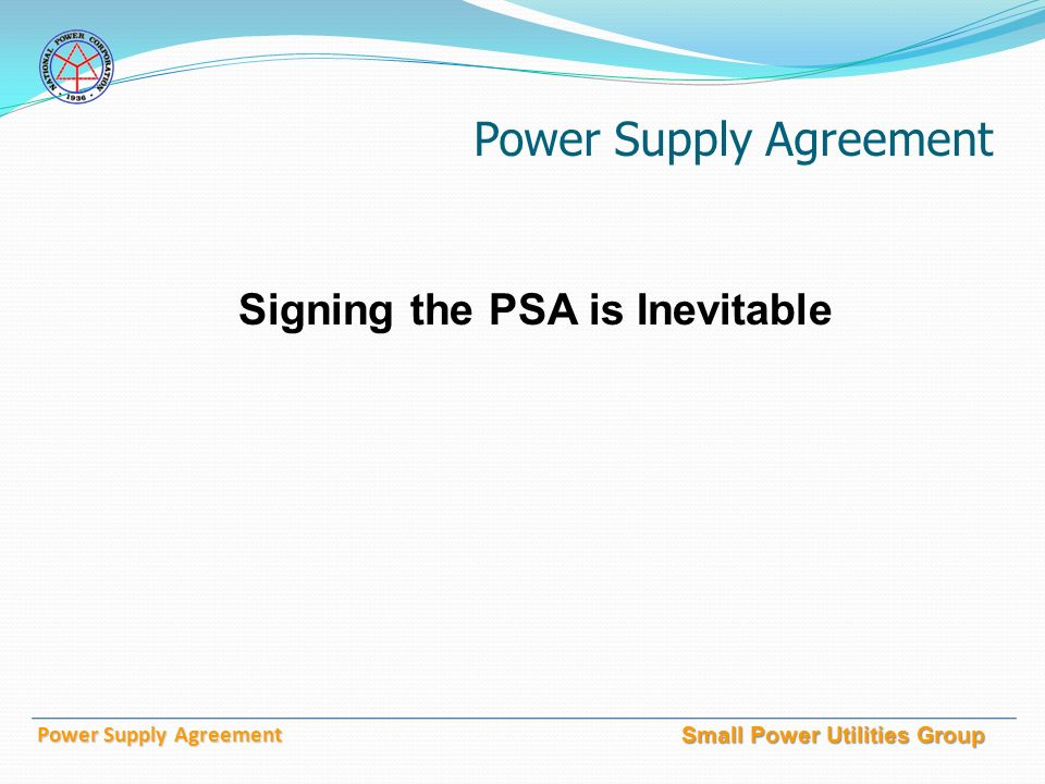 National power corporation small power utilities group power supply 10 small power utilities group power supply agreement signing the psa is inevitable platinumwayz