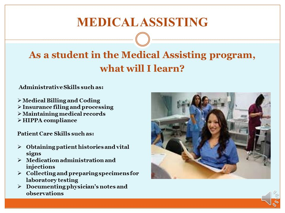 MEDICAL ASSISTING INFORMATION SESSION El Centro College The Center ...