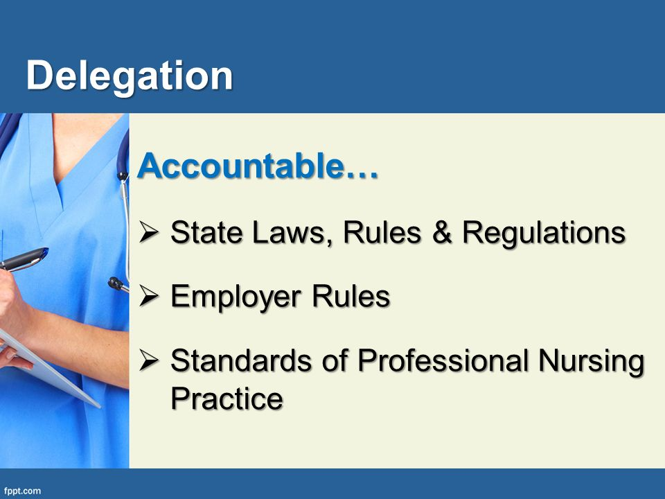 standards of practice laws and rules In ohio the law that regulates the practice of nursing is ohio revised code 4723 (orc 4723) it is referred to as the nurse practice act administrative law takes the form of rules and regulations enacted by agencies created by legislatures.