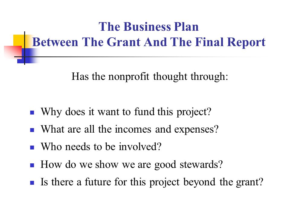 Business Plan For Non-Profit Foundation