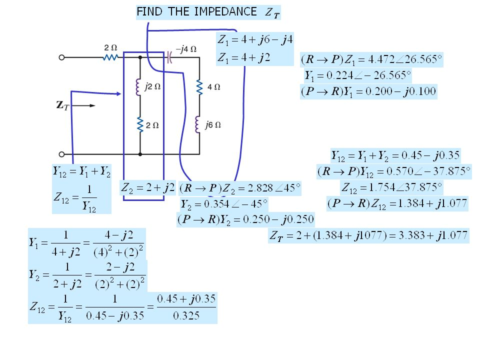Ac steady state analysis sinusoidal and complex forcing functions 17 sketch the phasor diagram for the circuit phasor diagrams display all relevant phasors on a common reference frame very useful to visualize phase ccuart Choice Image