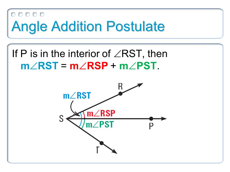 Geometry Worksheet Angle Addition Bisector perpendicular – Angle Addition Postulate Worksheet