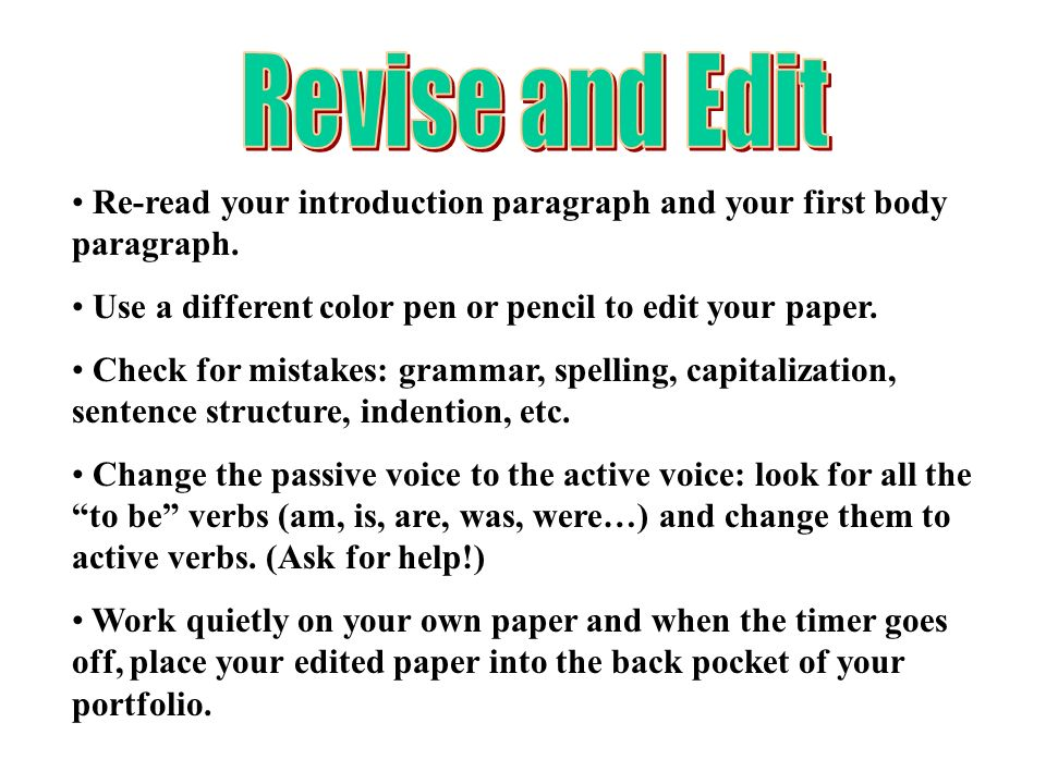 Can you revise/check my intro paragraph?
