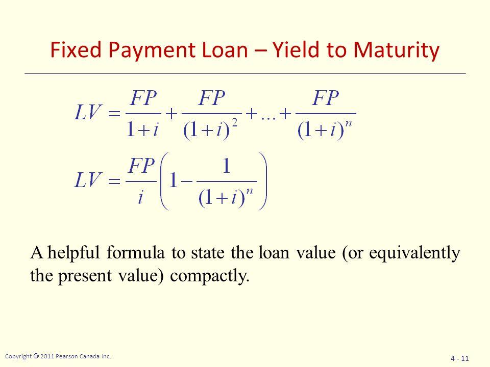 Loan Repayment Equation - Jennarocca