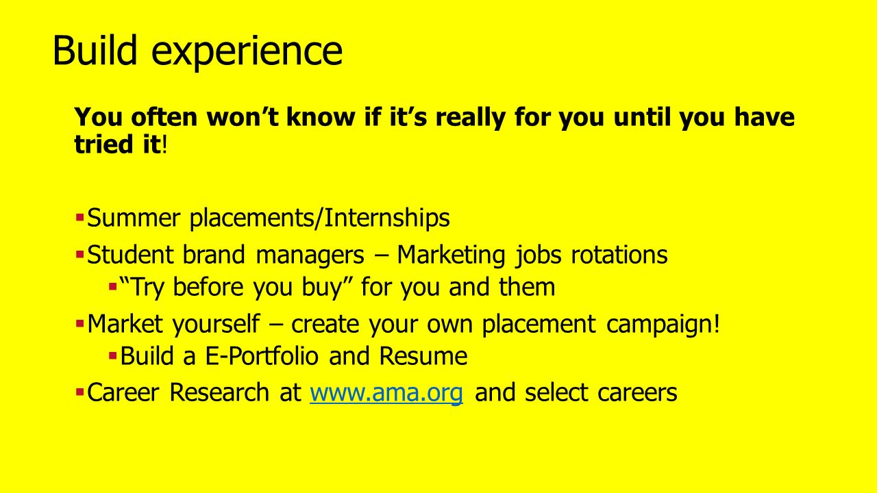 Marketing What It S All About And Why It S A Great Career A Guide
