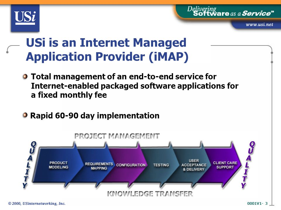 3 0001v1 Usi Is An Internet Managed Lication Provider Imap Total Management Of End To Service For Enabled Packaged
