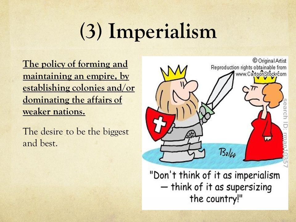 Imperialism Caused World War 1 Essay - Essay