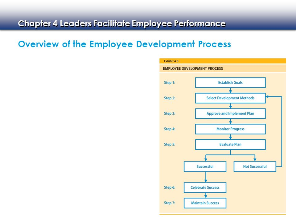Chapter 4 Leaders Facilitate Employee Performance Overview of the Employee Development Process