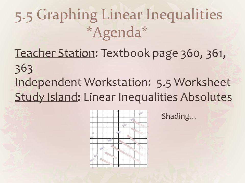 Keystone Prep (April curriculum). *Agenda* Teacher Station: Page ...