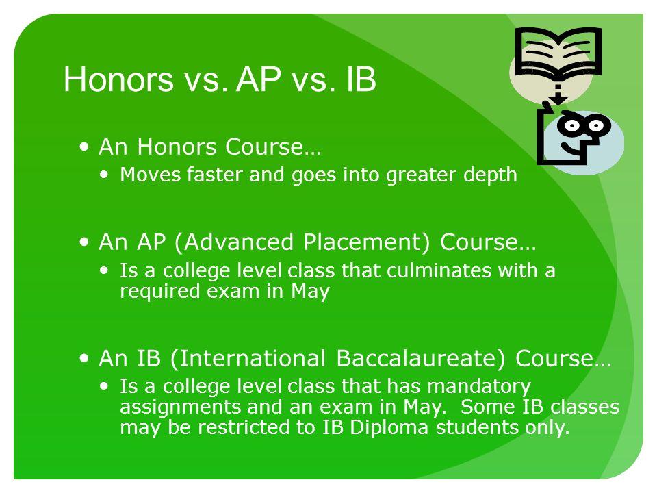 IB Diploma vs AP classes?