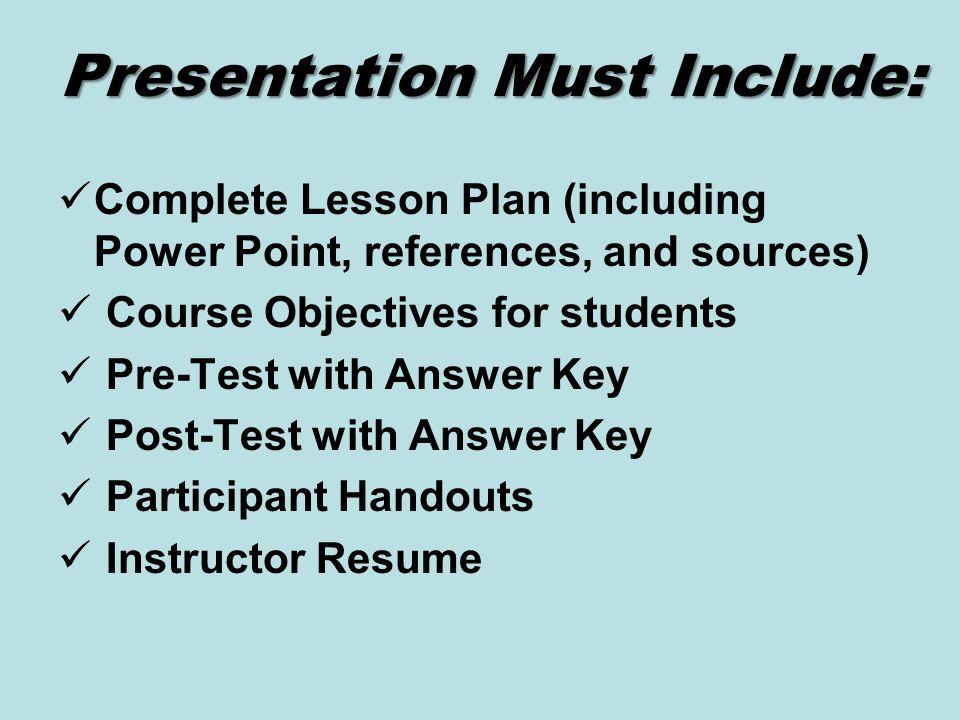 resume lesson plan powerpoint - Akba.greenw.co