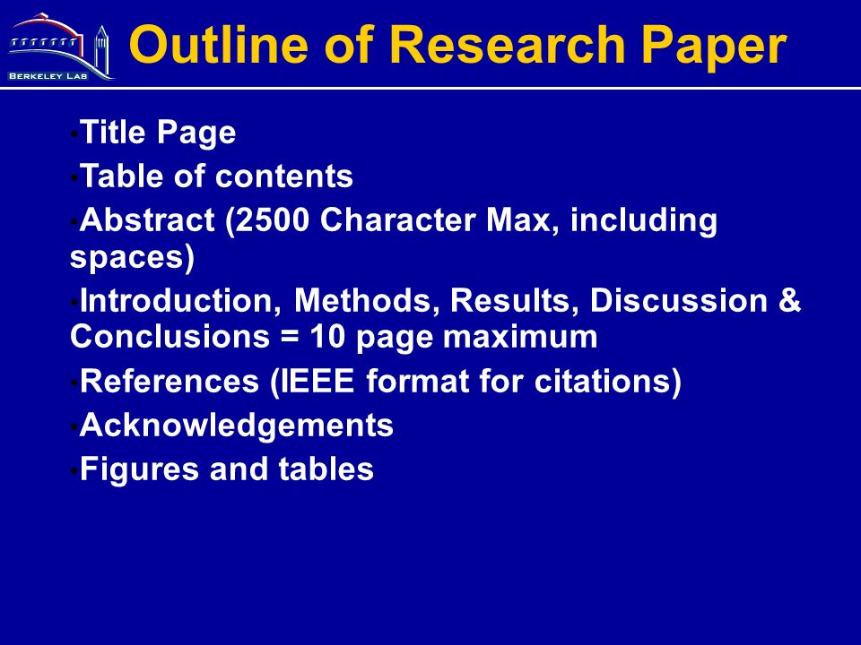 10 page research paper format