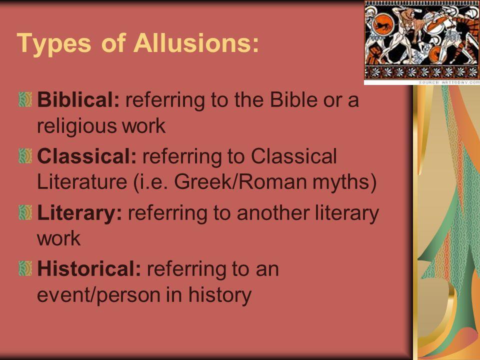 Types Of Allusions Elita Mydearest Co