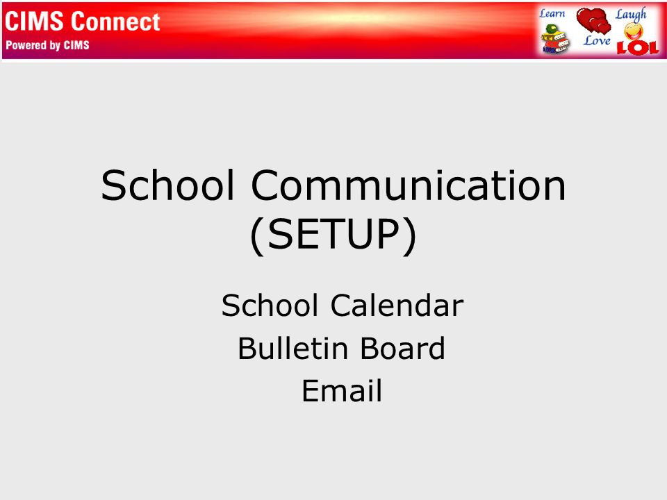 school communication