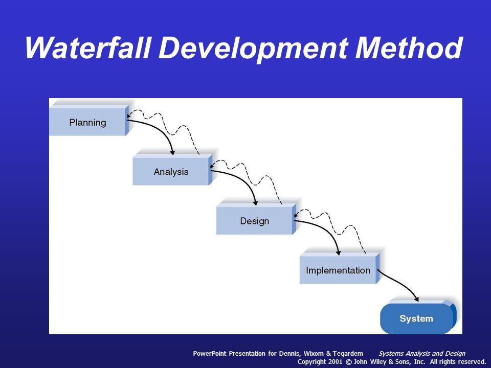 Waterfall development ppt best waterfall 2017 ai colored waterfall development lifecycle diagram powerpoint ccuart Images