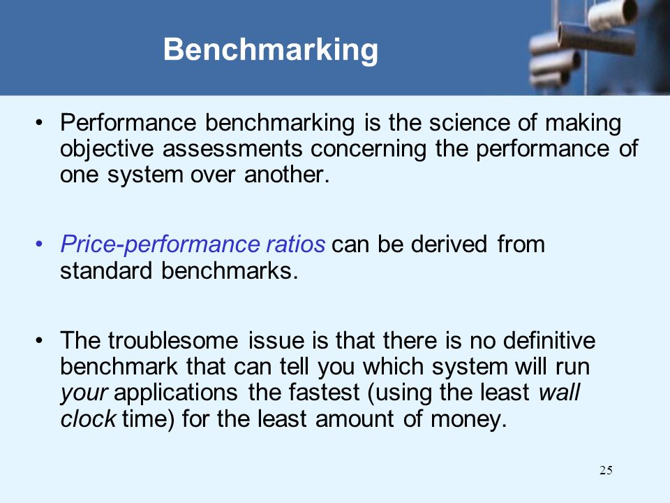 benchmarking and performance measurement essay Benchmarking is used to measure performance using a if you are the original writer of this essay and no longer wish to have the essay published on the uk.