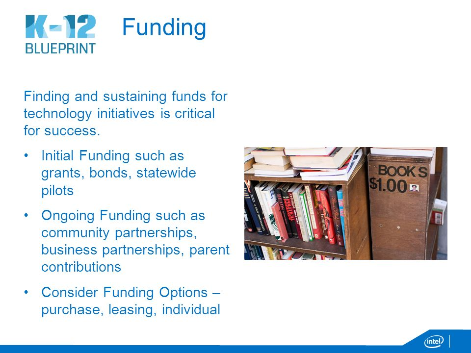 K 12 blueprint overview march an overview the k 12 blueprint 5 funding malvernweather Image collections