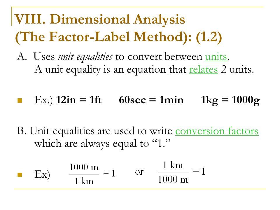Factor Label Method Worksheet Worksheet – Factor Label Method Worksheet