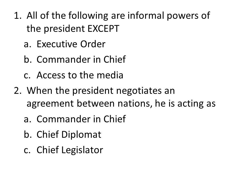 The executive branch 5 the bureaucracy review time dont copy 1 3 1 platinumwayz