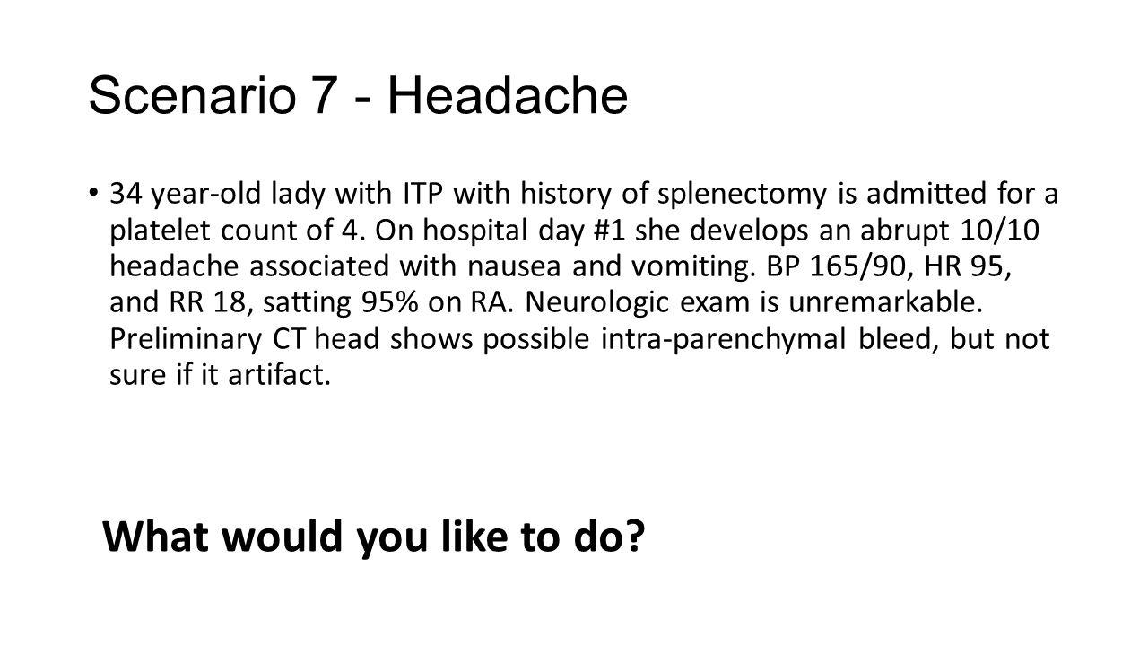4 day headache