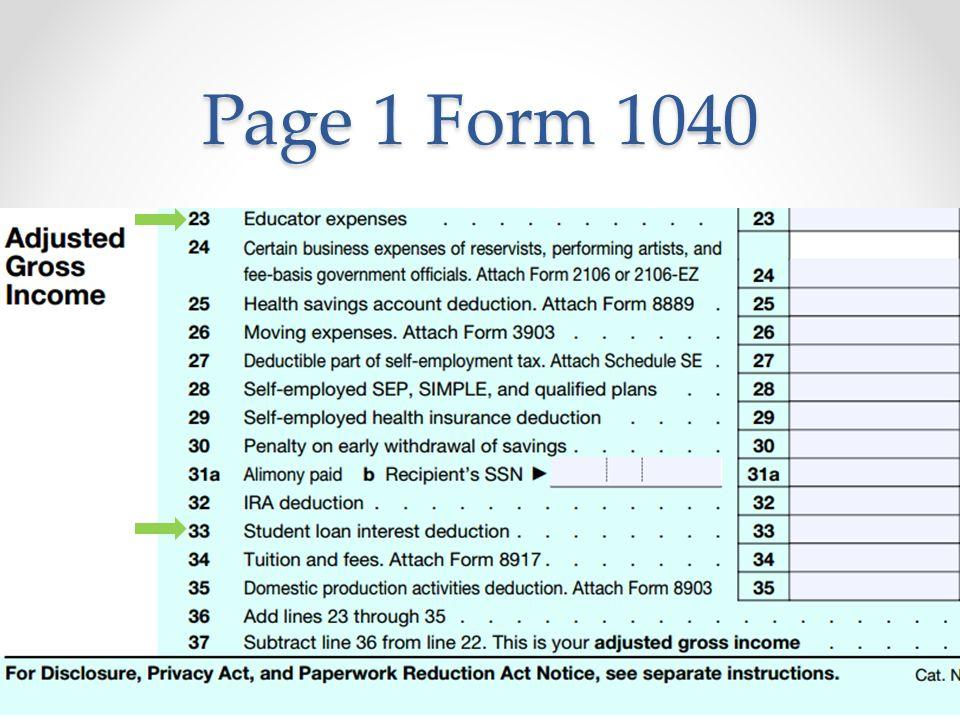 Form 1040 page 1 mersnoforum form publicscrutiny Images