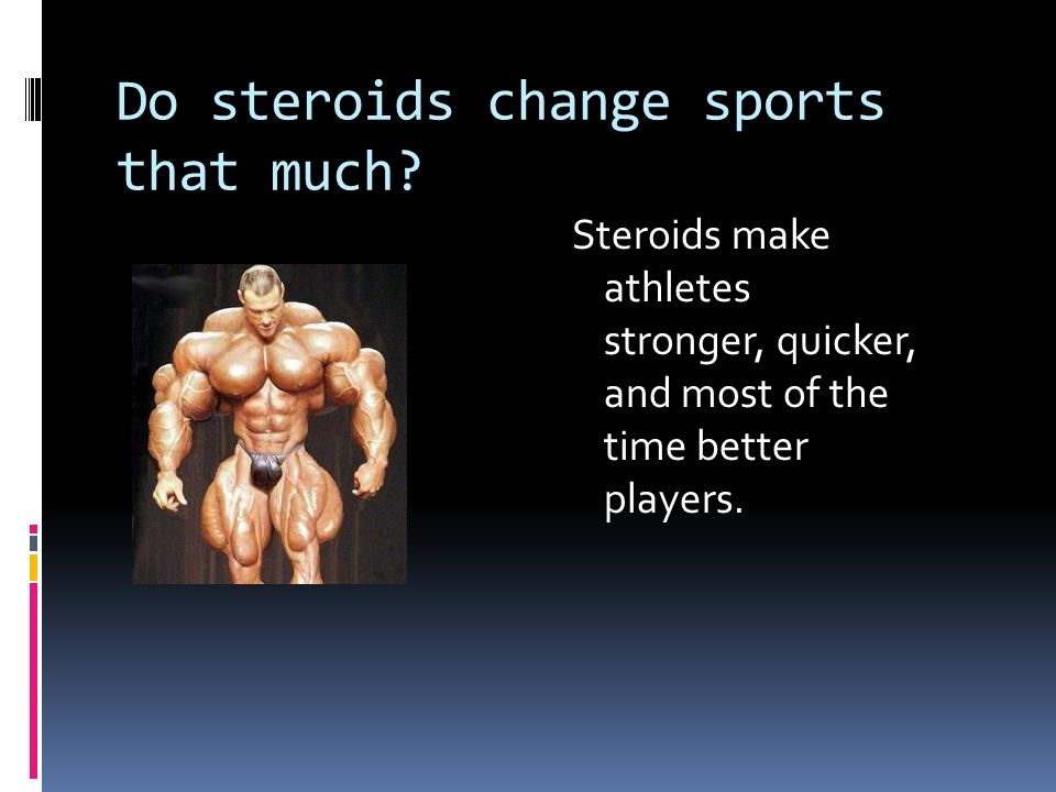 steroids in sports today essay A guide for understanding steroids and related substances march 2004 once viewed as a problem strictly associated with body builders, fitness buffs, and professional athletes, the abuse of steroids is prevalent in today's society.