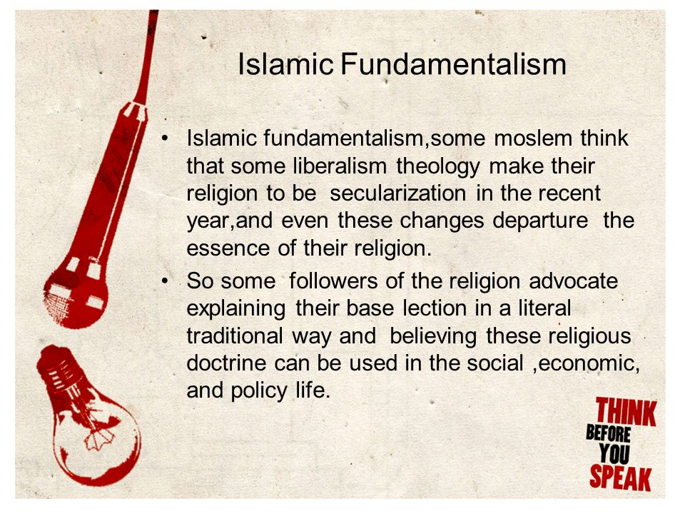 fundamentalism and secularisation How can one explain the strength of religious fundamentalism in the modern world in what ways mcleod, secularisation in western europe 1848-1914 (2000.