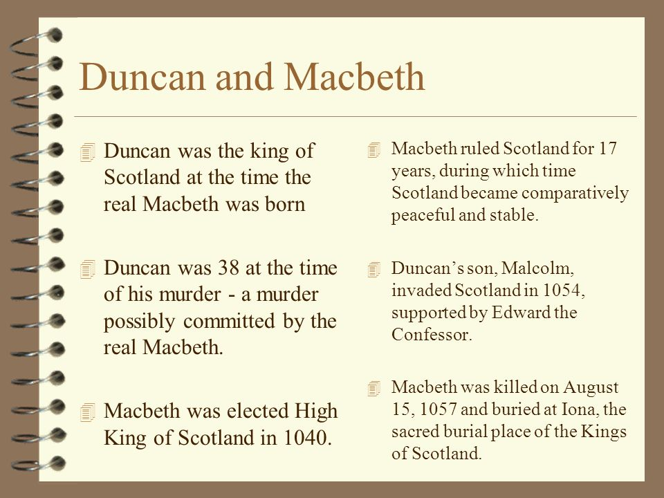 Macbeth essay- witches cause for macbeths murder of duncan