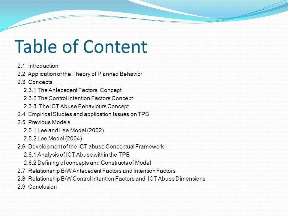 an empirical literature review of organizational