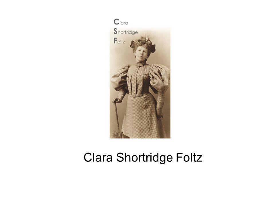 Clara Shortridge Foltz