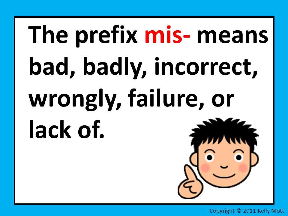 Prefix Mis- Activity CCSS by Primary World | Teachers Pay Teachers