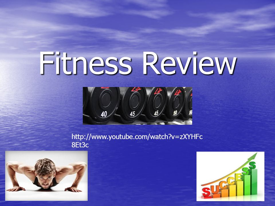 Your assignment 1) Determine 2 components of health related fitness you would like to work on and why.