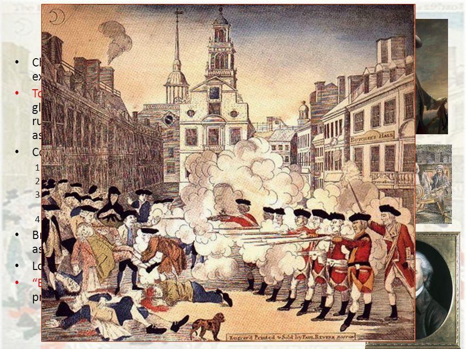 boston massacre essays
