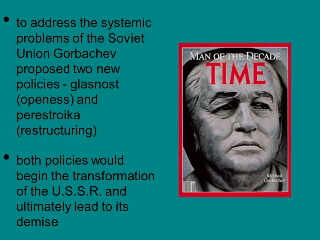 gorbachev perestroika and the fall of the soviet union essay