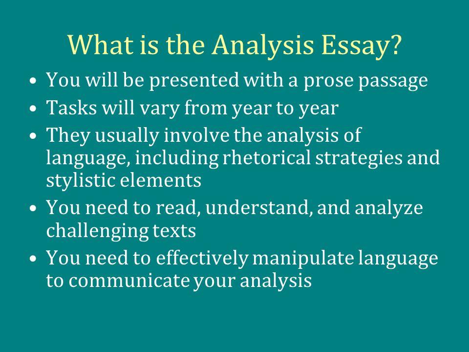 prose writing definition