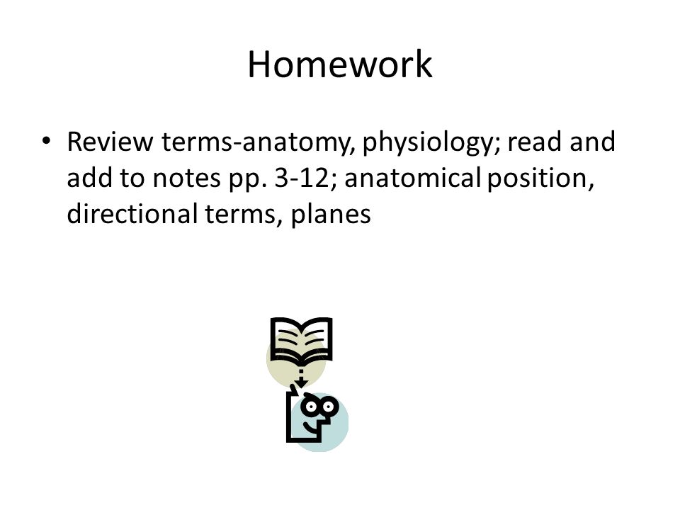 anatomy/physiology notes chapter 1 #1(anatomical terms), #2 ...